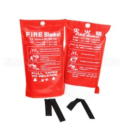 1 M X 1 M Feuer Decke Fiberglas Feuer Hitze Hemmende Notfall Überleben Feuer Shelter Sicherheit Protector Feuerlöscher Zelt