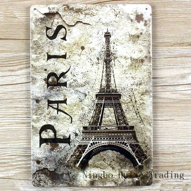Vintage Paris Wall Decor Home Decorating Ideas