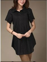 2014 summer plus size clothing casual all-match loose short-sleeve shirt mm clothing 0376 shirts womens summer clothes for women