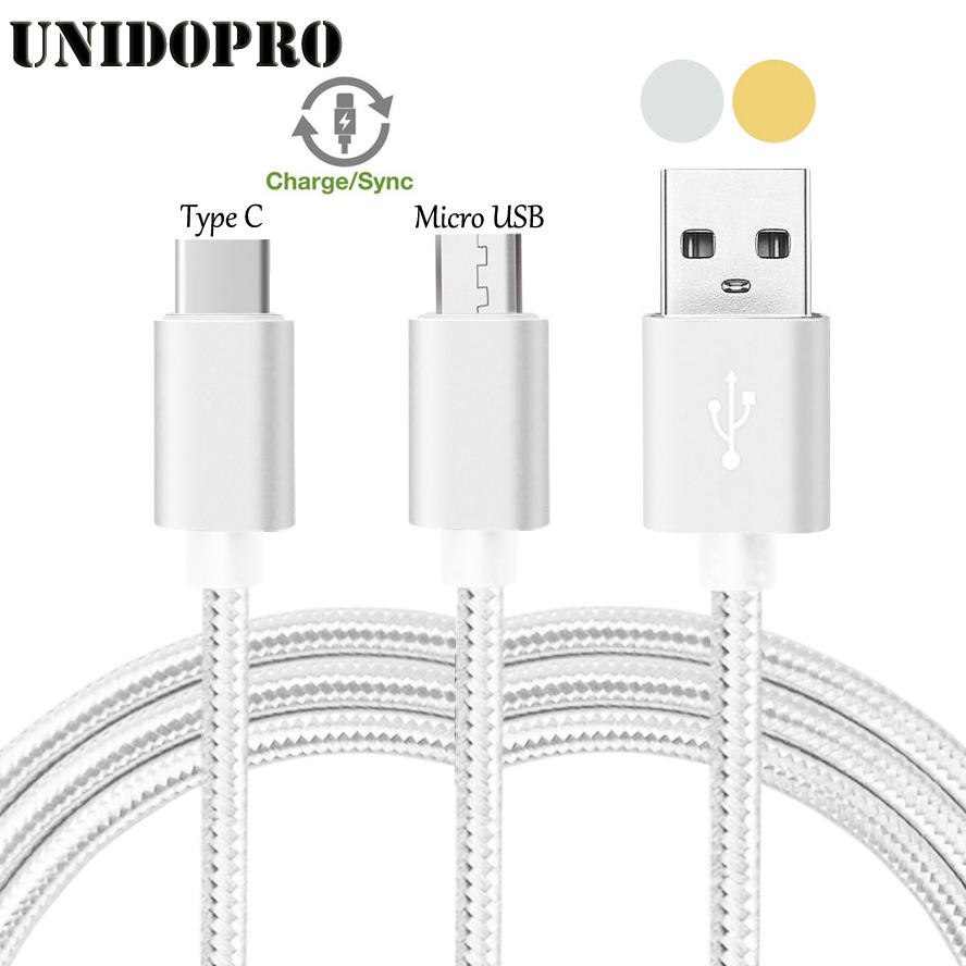 3FT Micro USB  Type C Data Sync Charge Cable for Meizu Pro 7  7 Plus 6 6S M5 Note M3E M3s U10 U20 MX6 MX5 M2 M3 Max Meilan X
