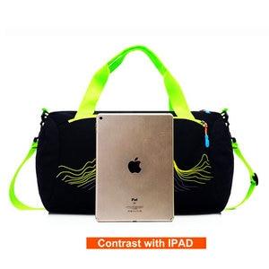 Image 2 - 2019 Swimming Bag Dry & Wet Separation Sports Bag for Travelling and Swimming Waterproof Swimming Handbag Training Shouler Bags