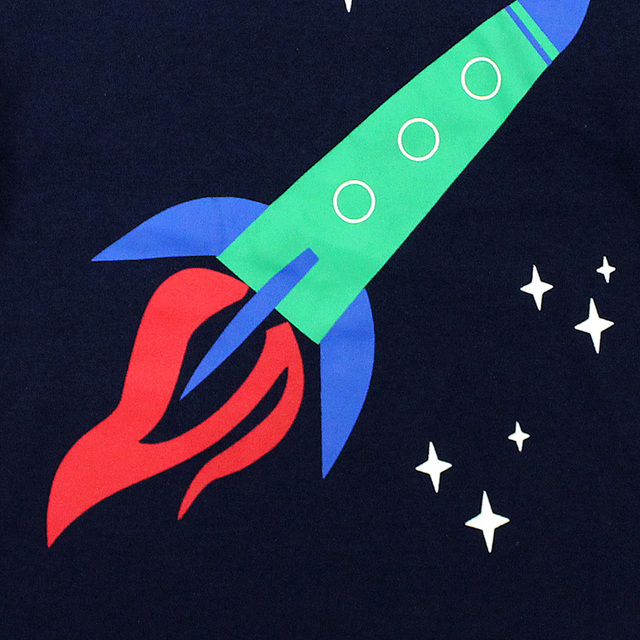 بيجامات للأطفال جديدة لعام 2019 ملابس نوم للأطفال بيجامات صاروخية للأطفال من سن 1 إلى 8 سنوات ملابس نوم شريطية للبنات بيجامات للأطفال 3