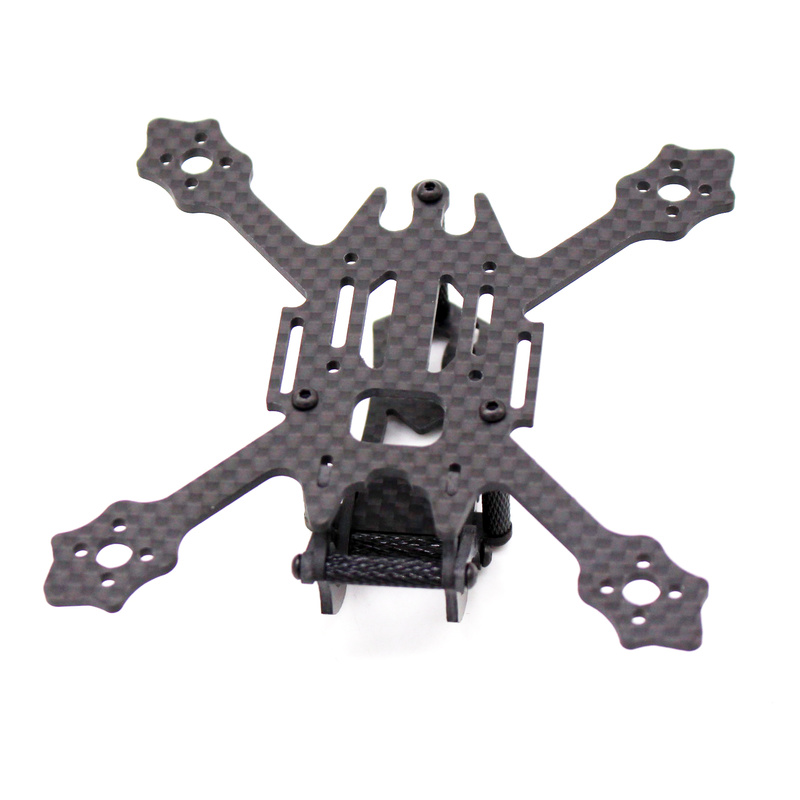 Image 3 - FSD Racing X100 100mm 2 inch Whoop Super light 3K Carbon fiber FPV frame RC drone for Gemfan 2036 prop F4 FC 11XX Motors EOS 2-in Parts & Accessories from Toys & Hobbies