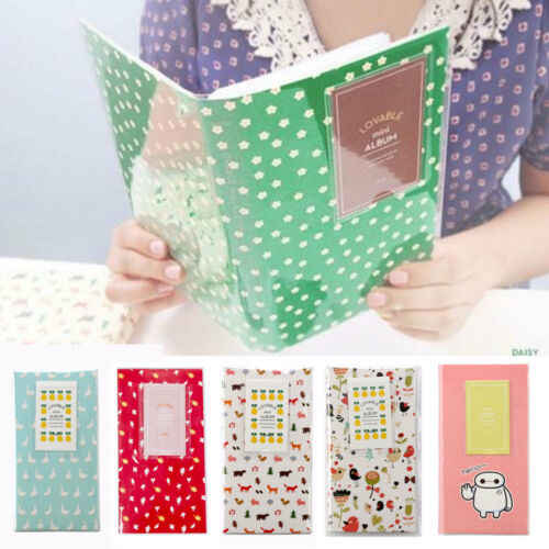 84 Photo Album Box Book Case Storage For Fujifilm Fuji Polaroid Mini Film Instax