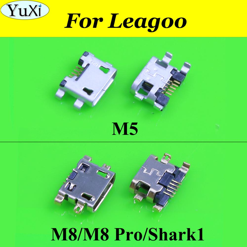 YuXi For Leagoo M5 M8 Pro Shark1 Mini Micro USB Charging Charge Port Dock Plug Connector Jack Socket Power Plug Replacement Part
