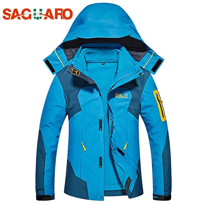 SAGUARO Ski Jacket Women Winter Outdoor Warm Snow Jacket Coat Female Snowboard Suits Softshell Fleece Liner Sports Clothes hot sale women ladies snowboard jacket waterproof breathable ski jacket female winter snow coat sport motorcycle anorak clothes