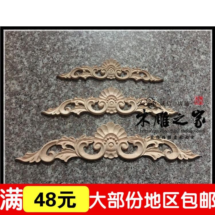 Dongyang Woodcarving Flower Special Offer European Style Wooden Piece Of  Furniture Door Cabinet Door Trim Heart