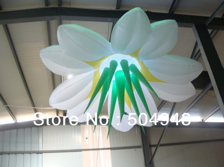 цены Ceiling Inflatable Flower with LED Light