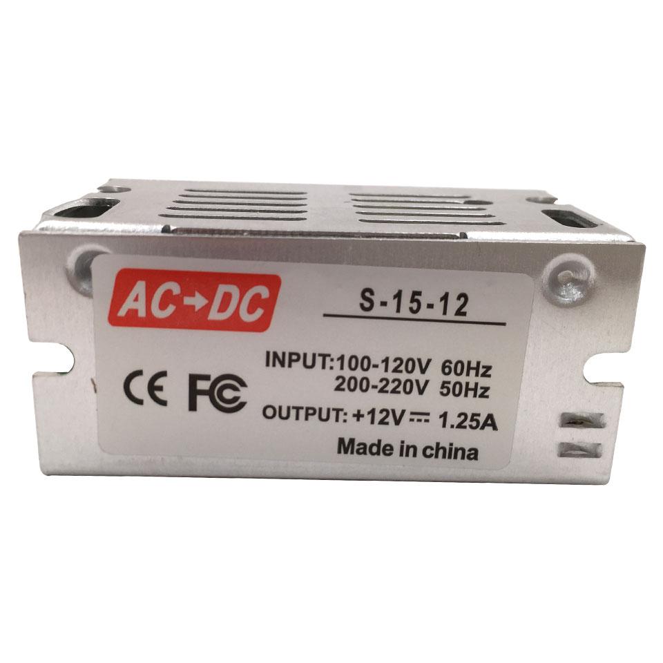 DC12V 1A Switch Power Supply AC to DC Lighting Transformer DIY LED Driver 10W 15W for LED Strip Lights Bulb AC85-265V 50/60Hz dc12v led power supply led driver ac100 240v to 12v 24v power adapter lighting transformer for led strip light