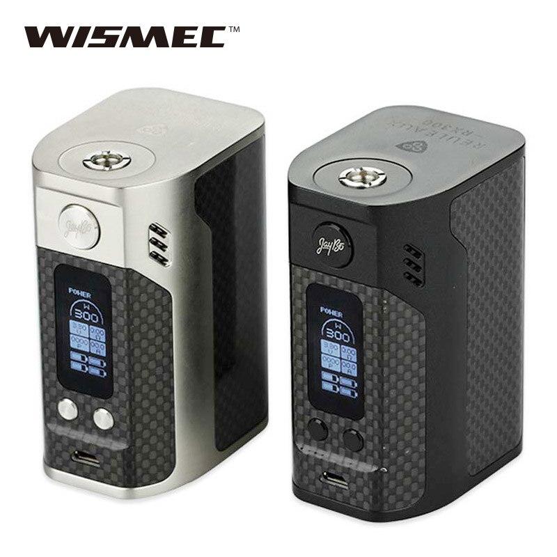 D'origine 300 W WISMEC Reuleaux RX300 TC Boîte Mod RX-300 VW/TC vaporisateur MOD pour RDA RTA RDTA BRICOLAGE Vaporisateur e-Cigarette vs Rx2/3
