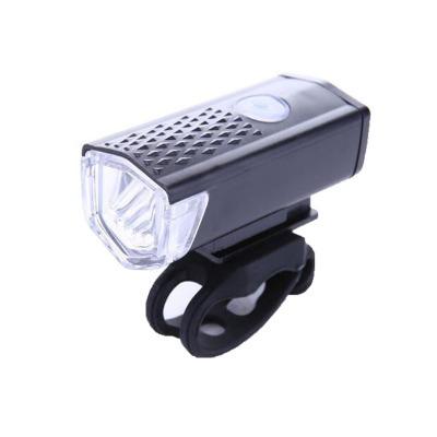 Cheap Bicycle Front Light USB Rechargeable Bike Headlight 300 Lumen 3 Mode Bike Lights Lamp LED Flashlight Lantern Cycling Accessories 8