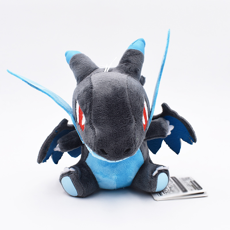 Hot Anime Charizard Plush Toys 7 Cute Q Evolution Blue Soft Stuffed Animals Doll Kids Christmas Gift