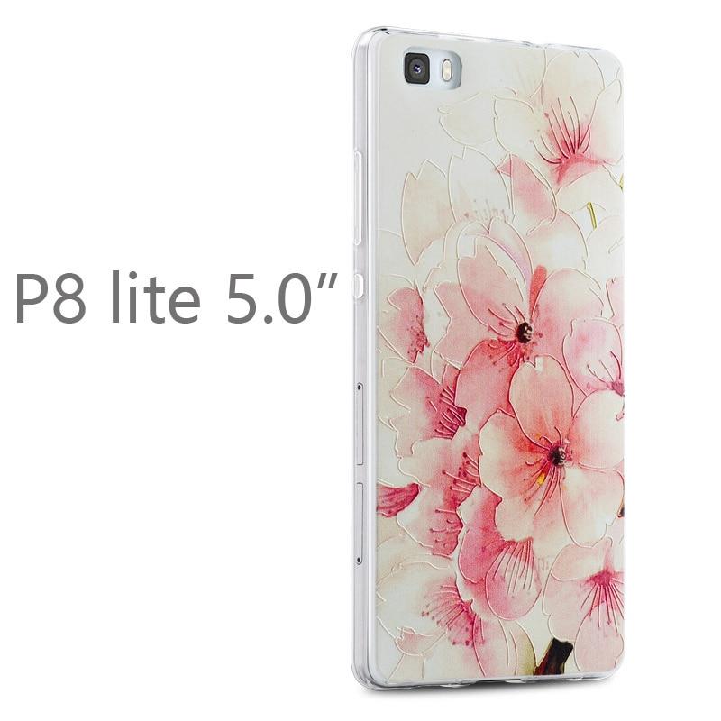 Gview Huawei p8 lite telefonväska huawei p8 mini Relief tecknad - Reservdelar och tillbehör för mobiltelefoner - Foto 5