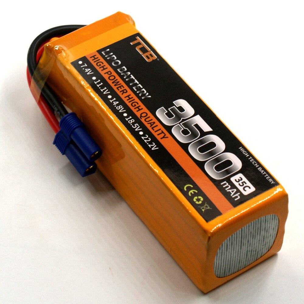 Batterie de Lipo de TCB 22.2 V 3500 mAh 35c 6 S RC pour le bateau de voiture de drone davion de rcBatterie de Lipo de TCB 22.2 V 3500 mAh 35c 6 S RC pour le bateau de voiture de drone davion de rc