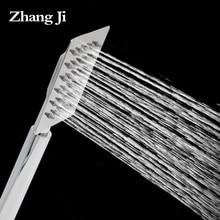 Ультратонкий нержавеющей стали площади Ручной душ фильтр экономии Воды прочный Ванная Комната ручной душ Новое Поступление душем ZJ055
