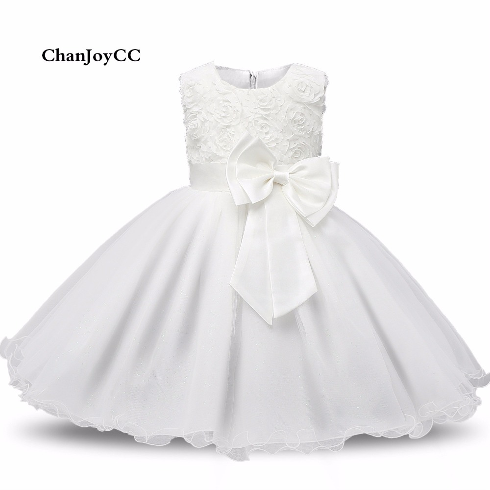 Children Girls Floral Lace Bow-knot Princess Dresses Kids Elegant Birthday Party Dress Girl's Wedding Clothing Children Dresses girls europe and the united states children s wear red princess long sleeve princess dress child kids clothing red bow lace