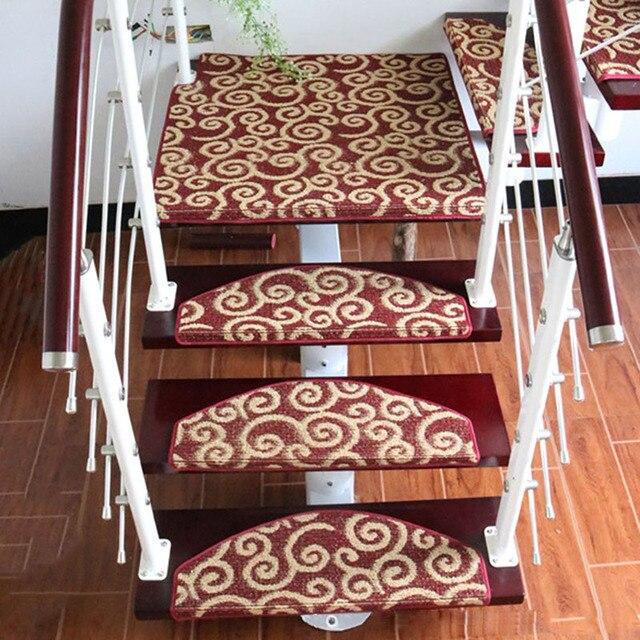 1 Peça Caso Não-derrapante Escada Tapete Tapete Tapetes Macios Etapa Do Piso Da Escada