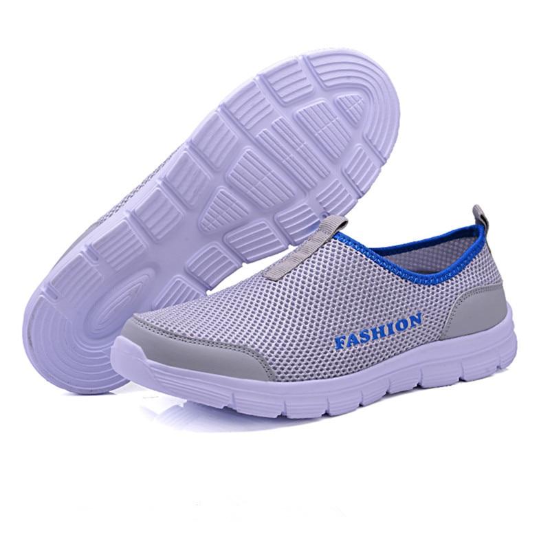 HTB1.neXaLvsK1Rjy0Fiq6zwtXXaN Luxury Brand Men Casual Shoes Lightweight Breathable Sneakers Male Walking Shoes Fashion Mesh Zapatillas Footwear Big Szie 38-48