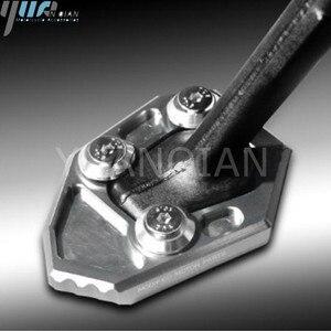 Image 2 - Dla S1000RR 10 14 aluminiowy cnc do motocykla korzystając z łączy z boku trzymać stojak płyta powiększ rozszerzenie dla BMW S1000RR S 2010 2011 2012 2013 2014