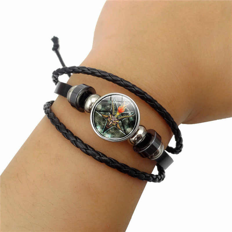 Pulseiras Feminina Rushed New 2019 Simple Fashion Men's Basset Time joya pulsera Multi-capa tejida accesorios de joyería de cuentas