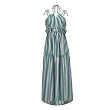aaaabf9dc25 Bohemian Beach Dress Sexy Women Club Bandage Stripes Long Maxi Dresses  Party Bridesmaids Infinity Robe Longue