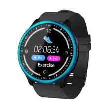 RAVI P69 Full screen Display Smart Watch Blood Pressure Heart Rate Monitor Sport Fitness Tracker Smartwatch IP68 Waterproof