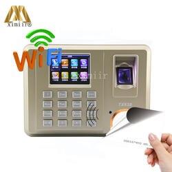 Бесплатная доставка TX638 Фингерпринта с wi fi TCP/IP и 125 кГц RFID рабочего времени офис устройство записи посещаемости