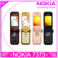 7373 Original Unlocked Nokia 7373 mobile phone Bluetooth Camera Vedio FM Classic Cheap Cell phone refurbished 1 year warranty
