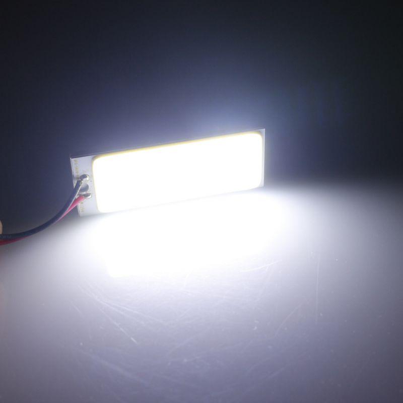 36 LED COB Light Bulbs Car Dome Light Flat Reading Light Emergency Lights Nightlight