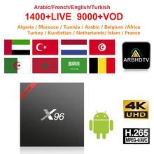 French Full HD IPTV X96W 1 month Free IP TV Turkey Arabic Morocco Subscription Box 4K Belgium France