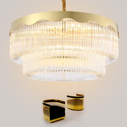 Post modern crystal chandelier led gold crystal chandeliers lighting post modern crystal chandelier led gold crystal chandeliers lighting fixture round luxury hotel dining room living room lamps in chandeliers from lights mozeypictures Choice Image