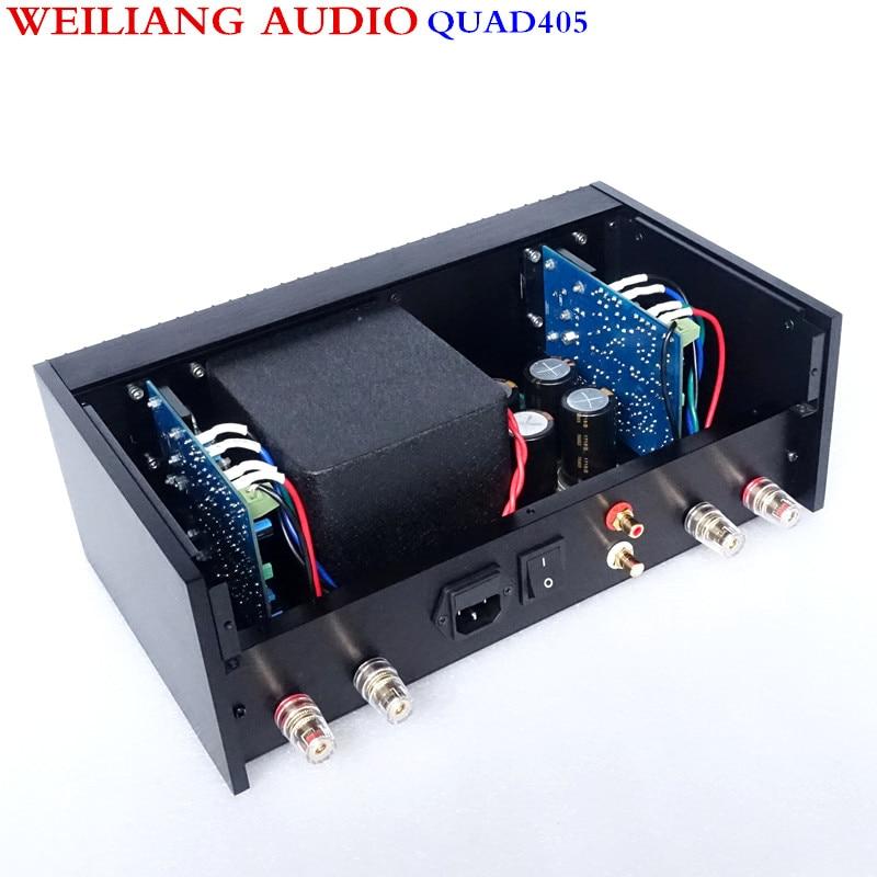 Breeze Audio QUAD405 Power amplifier AMP Copy degree 99% RCA Output Real Good sound 100W+100W детский костюм nike 644513 405 2015 644513 405 100 627 647