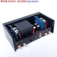 QUAD 405 Мощность усилитель AMP копия градусов 99% RCA Выход очень хороший звук 100 Вт + 100 Вт Breeze аудио