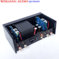 QUAD 405 Power amplifier AMP Copy degree 99% RCA Output Real Good sound 100W+100W Breeze Audio