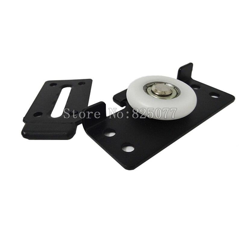 High Quality Wardrobe door pulley wheel roller kit cabinet wardrobe sliding door moving wheel wooden door moving wheel KF962