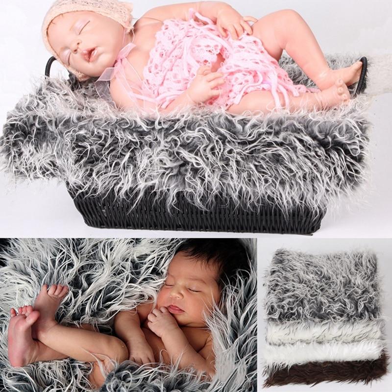 Fotografie Pasgeboren fotografische achtergronden Pasgeboren rekwisieten Deken Basket Stuffer