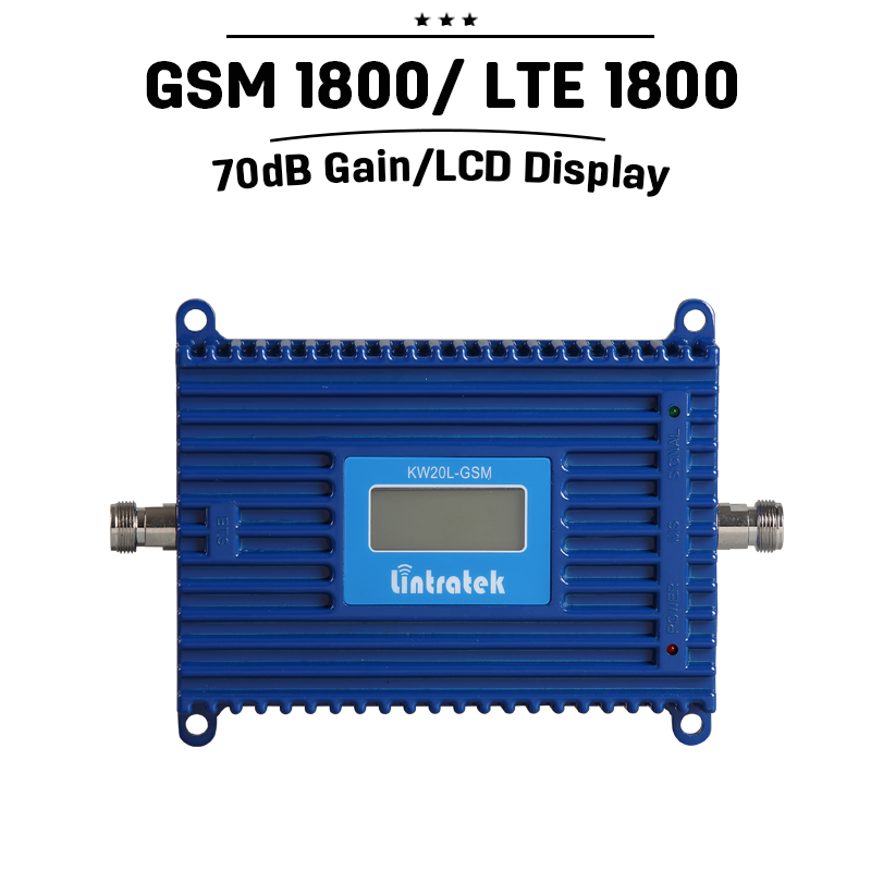 LCD Display 70dB ALC Repetidor GSM 1800 Mobile Phone Repeater Cellular Signal Amplifier DCS 1800mhz Cell Phone Signal BoosterLCD Display 70dB ALC Repetidor GSM 1800 Mobile Phone Repeater Cellular Signal Amplifier DCS 1800mhz Cell Phone Signal Booster
