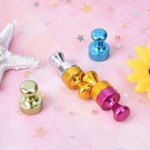 6 шт./компл., прозрачная Шпилька-кегля, магниты, сильные магнитные Thumbtacks, сделай сам, принадлежности для холодильной доски