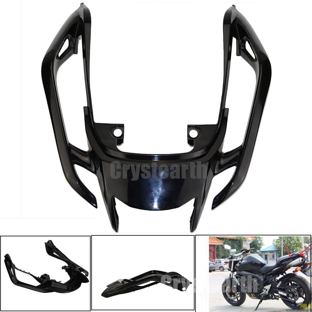 New Arrival Black Tempered Plastic Motorcycle Rear Tail Section Cowl Fairing Cover For Yamaha FZ6N FZ6S FZ 6N 6S FZ-6N FZ-6S ветровик на ямаху fz 6n