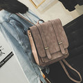 Vogue Star! NEW Fashion Backpack Women Backpack Leather School Bag Women Casual Style Famous Designer Brand Backpack