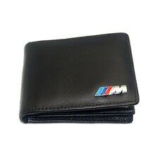 Coche Del Cuero genuino Caja de Tarjeta de Crédito Titular de Licencia de Conducir Bolsa de M para BMW E30 E34 E36 E38 E39 E46 E53 E60 E70 E83 E87 E90 F10
