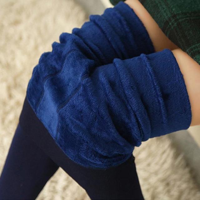 O envio gratuito de outono e inverno além de veludo leggings grossas pérola leggings de cashmere quentes superelastic coloridos de algodão