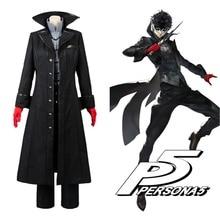 Persona 5 Косплей P5 джокер костюм куртка Ren Amamiya полный комплект Akira Kurusu униформа наряд для мужчин вечерние Хэллоуин