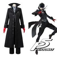 Persona 5 Cosplay P5 Joker Costume Jacket Ren Amamiya Full Set Akira Kurusu Uniform Outfit for Men Party Halloween