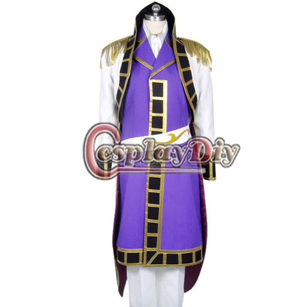 Costumes & Accessories Nice Cosplaydiy Free Shipping Customized Code Geass Schneizel El Britannia Cosplay Costume Anime Cosplay Costume Men's Costumes