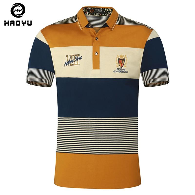 Camisa Polo Mangas cortas Algodón con letras Logo Gradiente - Ropa de hombre - foto 1