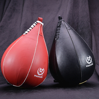 Boxing Pear Speed Ball Bag Sport Speed Bag Punch Exercise Fitness Training Ball Without Hanging Black