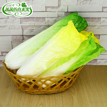 High artificial PU cabbage baby food fake fruit model kitchen cabinet home decoration props