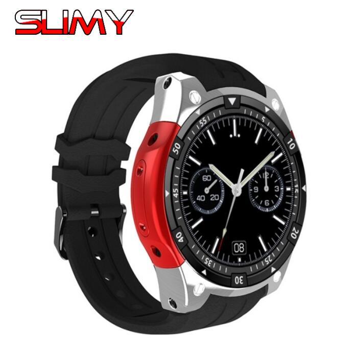 Slimy X100 Smart Watch Android 5.1 OS Smartwatch MTK6580 1.3inch 3G SIM Wristwatch GPS Wifi 512MB/8G PK X200 KW88 KW99