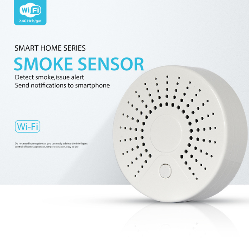 NEO WiFi Smoke Detector/Sensor High Sensitive Stable Intelligent Wireless Fire Protection Smoke Detector Fire Equipment
